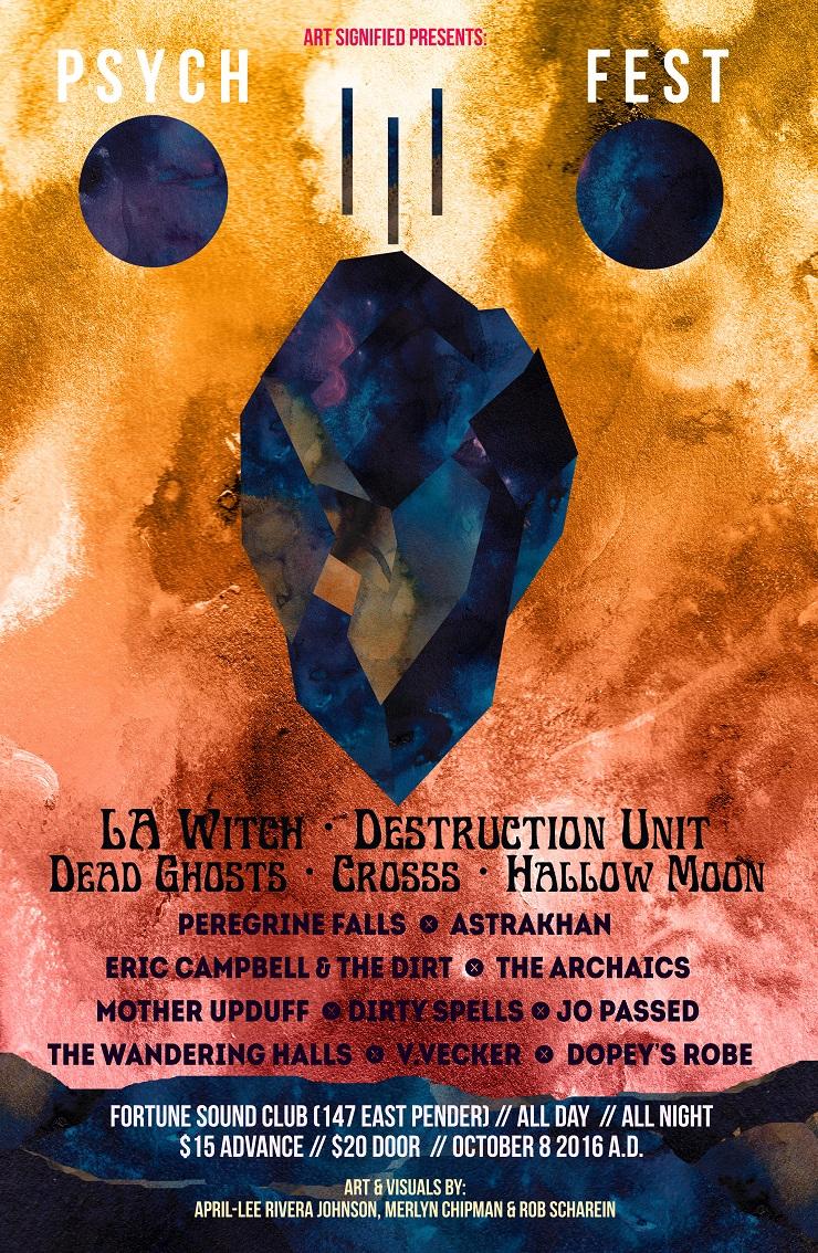 Vancouver Psych Fest Returns with L.A. Witch, Destruction Unit, Dead Ghosts
