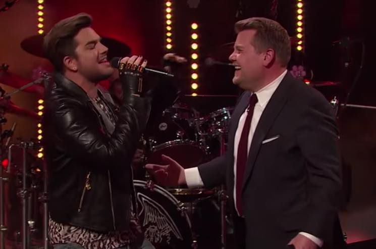 ​Watch Adam Lambert and James Corden Face Off in a Queen Sing-Off