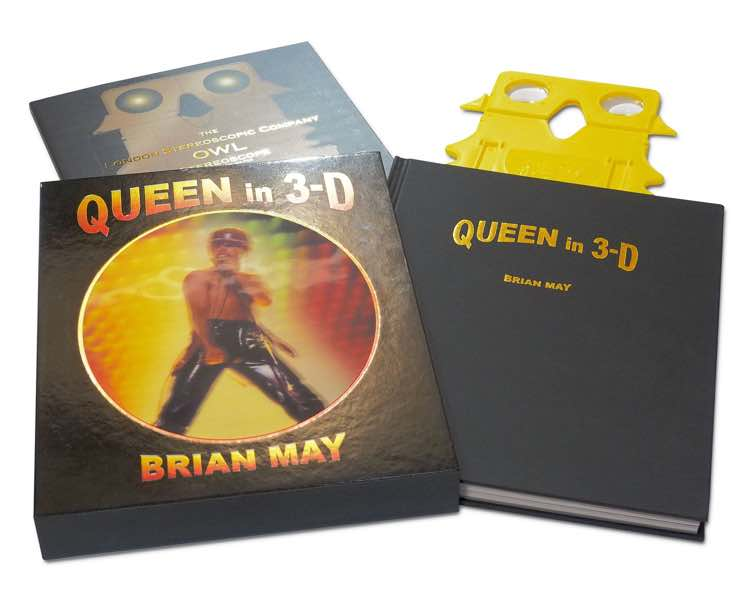 ​Brian May Is Releasing a 3D Photo Book About Queen