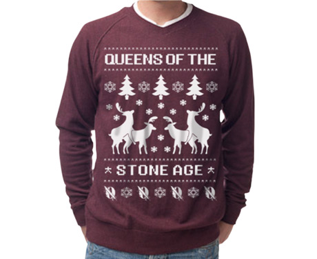 Queens of the Stone Age Get Their Own Ugly Christmas Sweater