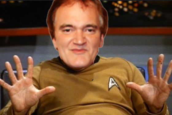 Quentin Tarantino and Simon Pegg Are Beefing over 'Star Trek'