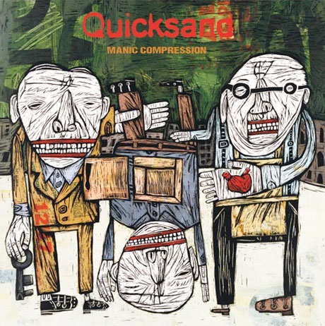 Quicksand Deliver Vinyl Repress of 'Manic Compression'