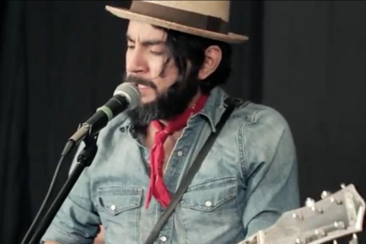 Quique Escamilla 'Canción Mixteca' (Pinball Session video)