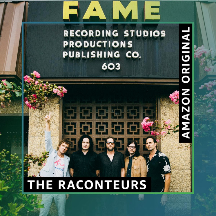 "Hear the Raconteurs' New Songs for Amazon in ""Better Than CD Quality"""