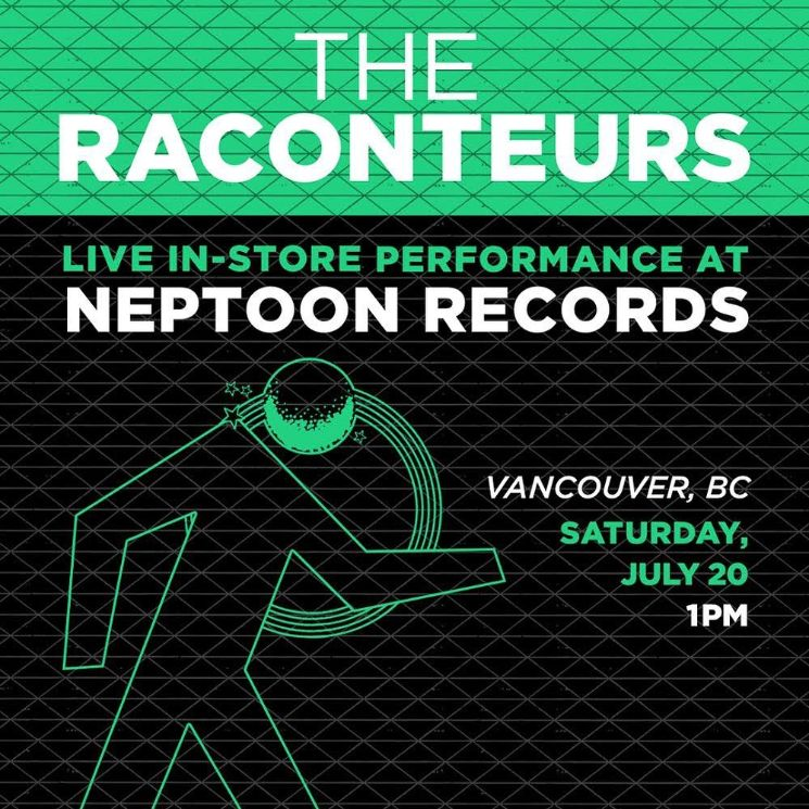 Jack White Played a Surprise Raconteurs Show at Vancouver's Neptoon Records and Everyone Freaked Out