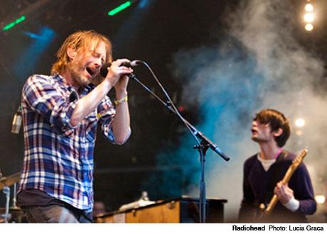 Thom Yorke Outlines Radiohead Tour Plans, Atoms for Peace Album