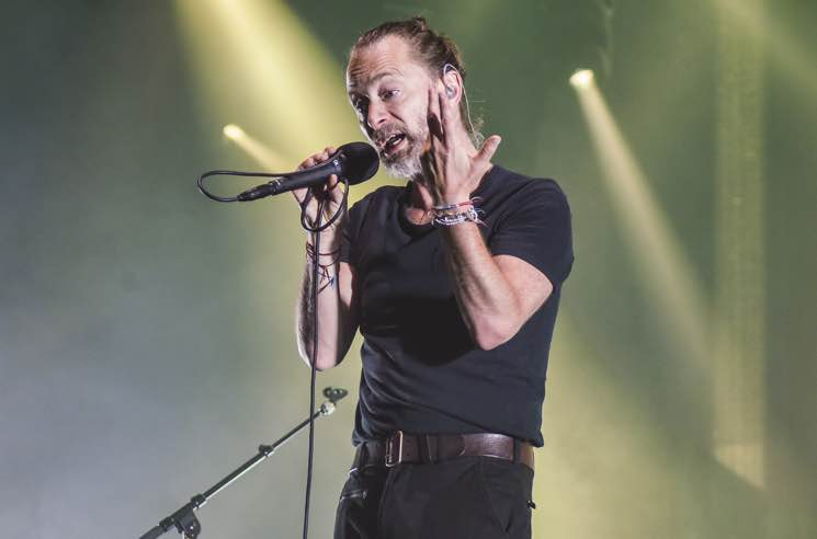 "Watch Thom Yorke's Seamless ""Silent Night"" and ""Reckoner"" Mashup"