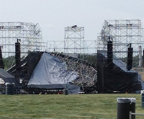 Radiohead Issue Statement about Toronto Stage Collapse, Postpone Shows