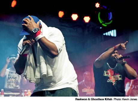 Raekwon & Ghostface Killah Yonge-Dundas Square, Toronto ON June 17