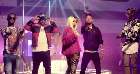 Rae Sremmurd 'Throw Sum Mo' (ft. Nicki Minaj and Young Thug) (video)
