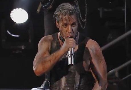"""Rammstein """"Du Hast"""" (live on 'Kimmel')"""