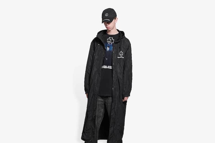 Rammstein Launch Pricey Balenciaga Merch Line Including a $3,000 Raincoat