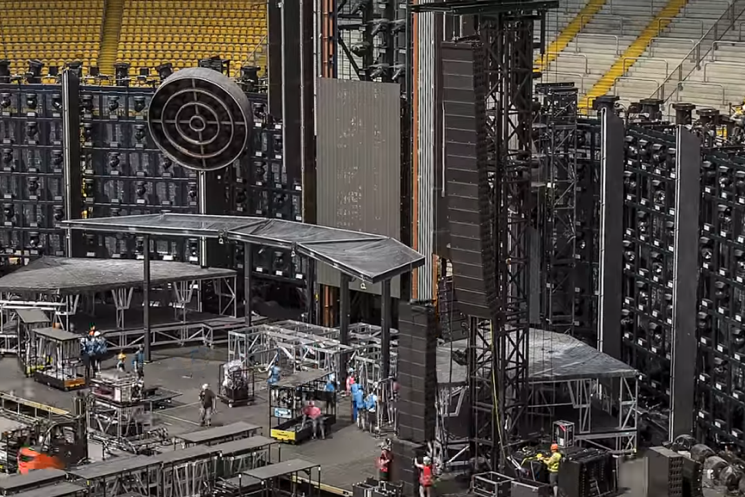 Watch Rammstein's Intense 60-Hour Stage Setup in Timelapse