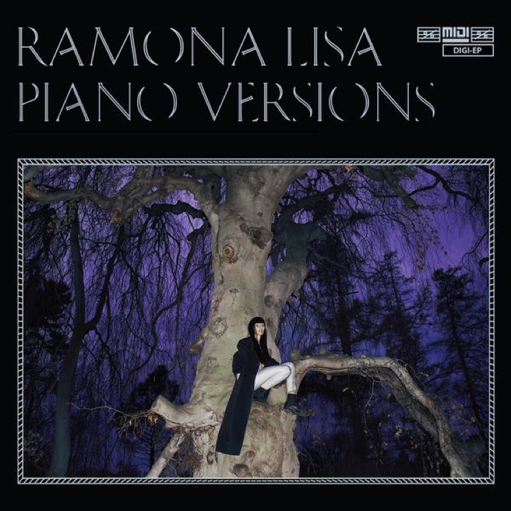 "Ramona Lisa 'Piano Versions' (EP stream) / ""I Love Our World"" (video)"