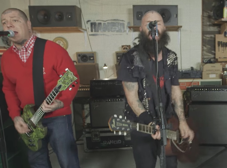"Rancid ""Telegraph Ave"" (video)"