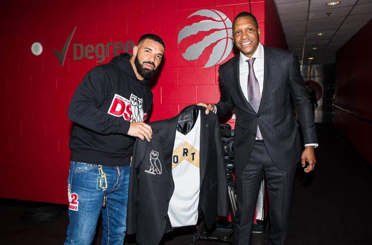 The Raptors Gave Drake a Custom OVO Diamond-Encrusted Jacket Worth over $1 Million