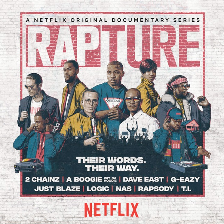 Stream the Soundtrack to Netflix's 'Rapture' with Logic, 2 Chainz, Killer Mike, Nas
