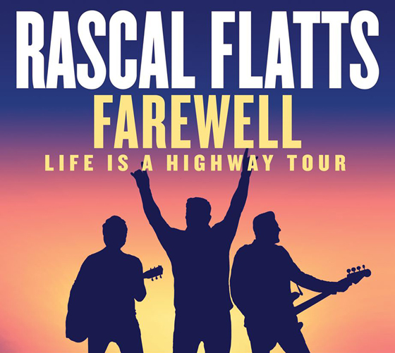 Rascal Flatts Plot Farewell Tour, Set Toronto Date