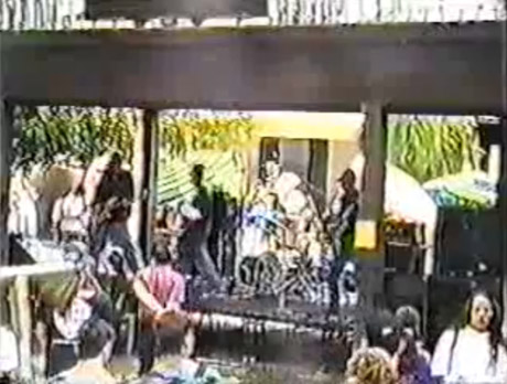 Rage Against The Machine 'First Public Performance' (live video)