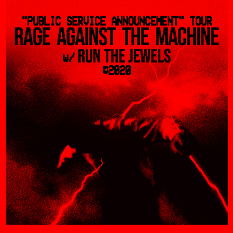 Rage Against the Machine Postpone North American Tour over Coronavirus