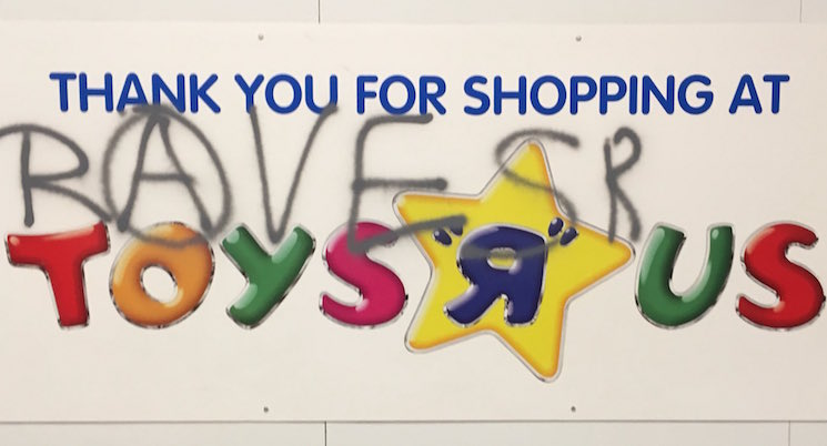 "Police Shut Down an Illegal Rave in an Abandoned Toys ""R"" Us"