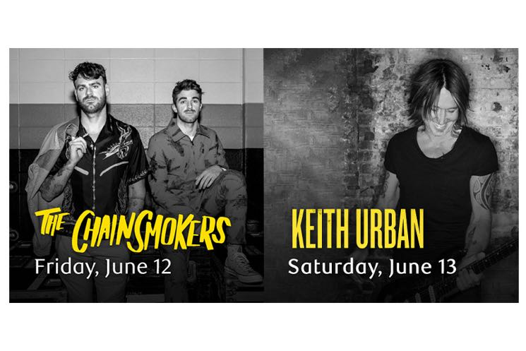 ​The Chainsmokers and Keith Urban to Headline 2020 RBC Canadian Open