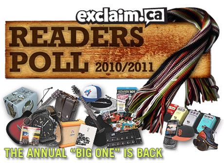 Remember the Best of 2010 with the Results of Exclaim!'s Readers Poll
