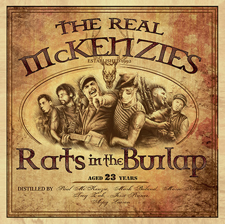 The Real McKenzies Announce 'Rats in the Burlap' LP, Canadian Tour