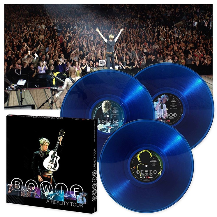 David Bowie's 'A Reality Tour' Live Album Gets Vinyl Reissue