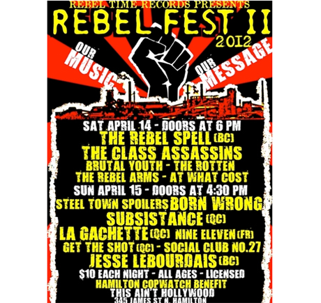 Hamilton's Rebel Fest II Brings Out Rebel Spell, Steel Town Spoilers, Class Assassins