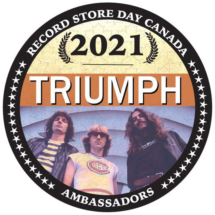 Triumph Named Ambassadors of Record Store Day Canada