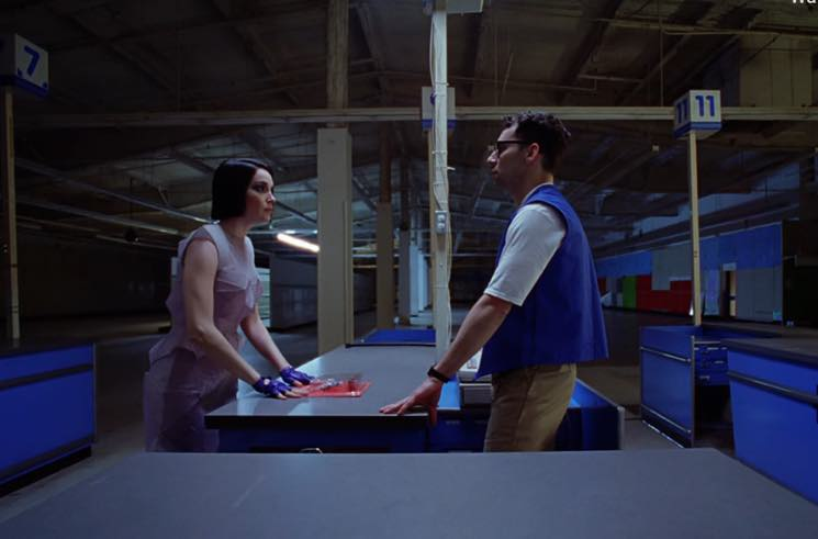 ​Watch Jack Antonoff and St. Vincent in the Video for Red Hearse's 'Half Love'