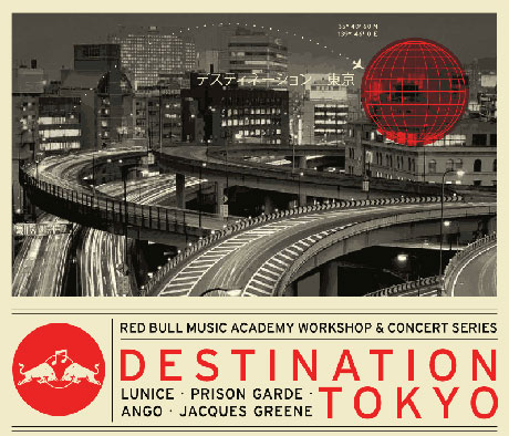 Red Bull Music Academy Brings Destination Tokyo Across Canada with Lunice, Ango, Jacques Greene