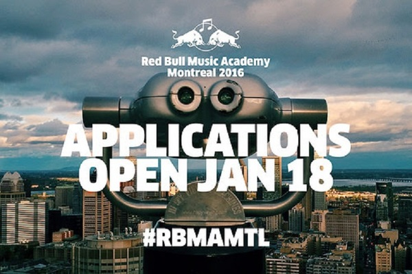 Montreal to Host 2016 Red Bull Music Academy