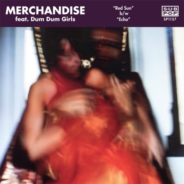 """Merchandise """"Red Sun"""" (ft. Dum Dum Girls)"""