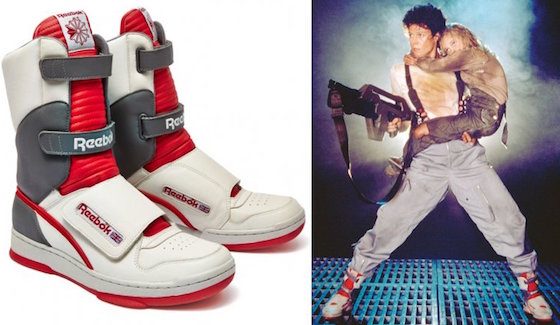 Sigourney Weaver's 'Alien' Reeboks Are Coming Back