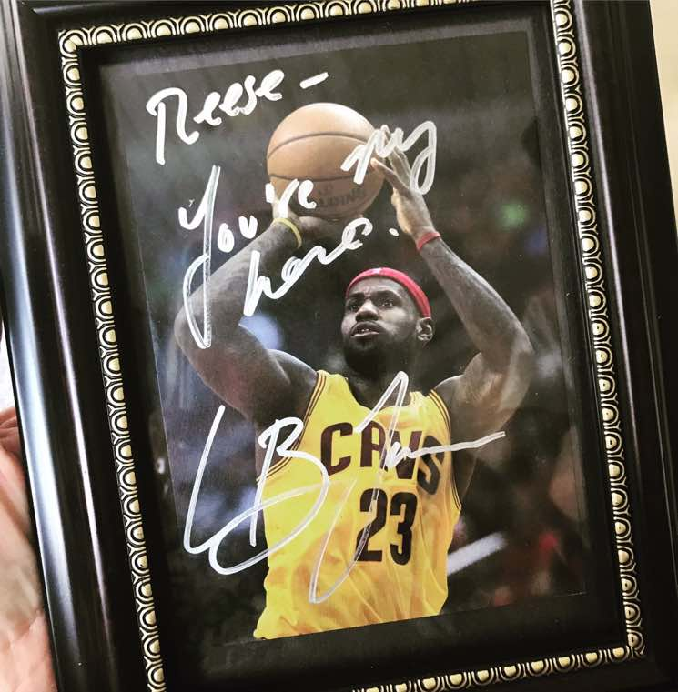 Did Lebron James Really Tell Reese Witherspoon 'You're My Hero?'