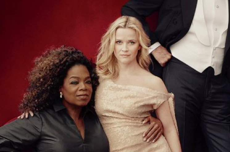 Oprah and Reese Witherspoon Are Loving Their Extra Hands and Legs on 'Vanity Fair' Cover