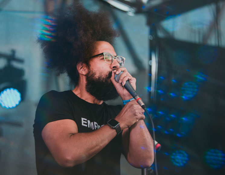 Reggie Watts Phillips Backyard Weekender, Victoria BC, July 21