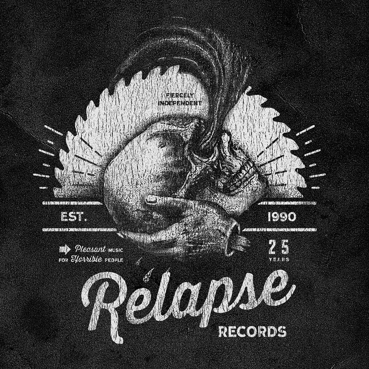 Various Artists 'Relapse Records: 25 Years of Contamination' (album stream)