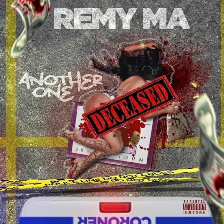 Remy Ma Drops Diss Track with Artwork Depicting a Murdered Nicki Minaj