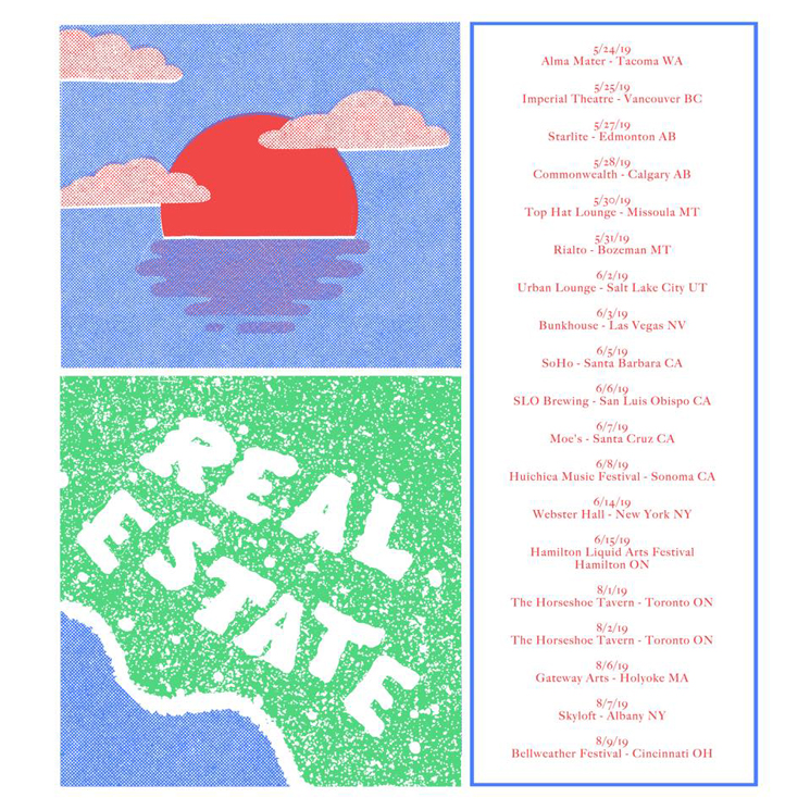 Real Estate Map Out North American Tour