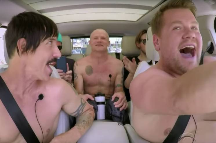 "Anthony Kiedis Saved a Choking Baby During ""Carpool Karaoke"" Shoot"