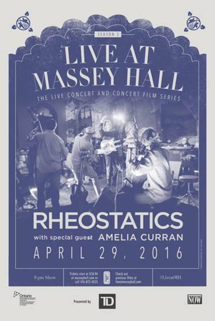 The Rheostatics Reunite for 'Live at Massey Hall' Show in Toronto
