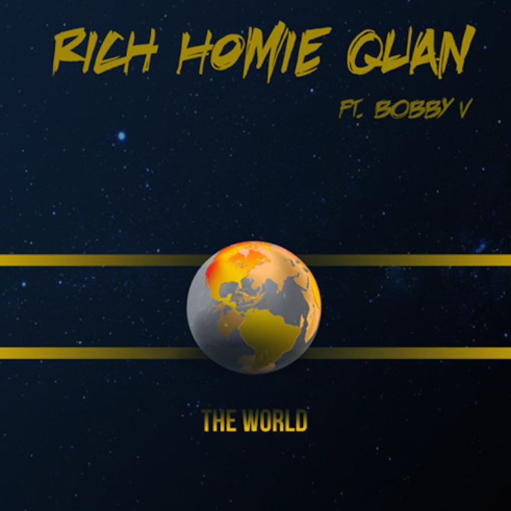 "Rich Homie Quan ""The World"" (ft. Bobby V)"