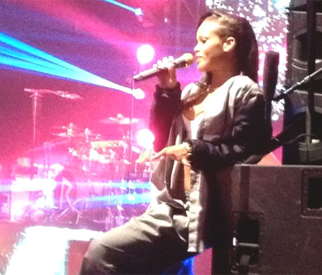 Rihanna Danforth Music Hall, Toronto, ON, November 15