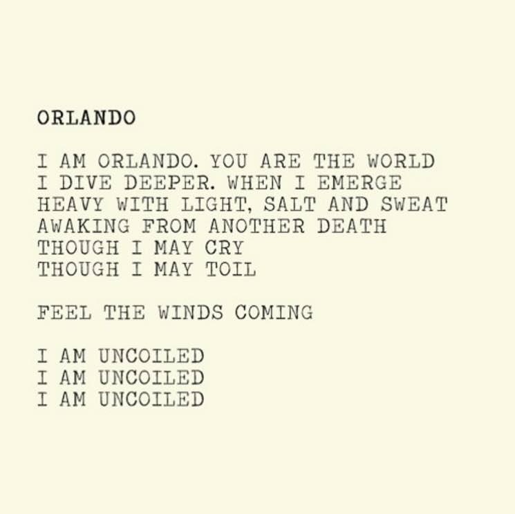 Alejandra Ribera Shares 'Orlando' Tribute