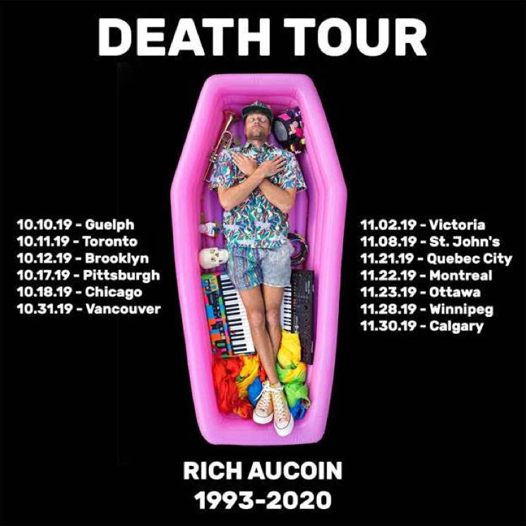 "​Rich Aucoin Maps Out ""Death Tour"""