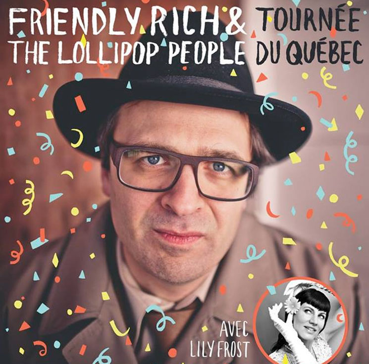 Friendly Rich Maps Out Quebec/Ontario Tour with Lily Frost