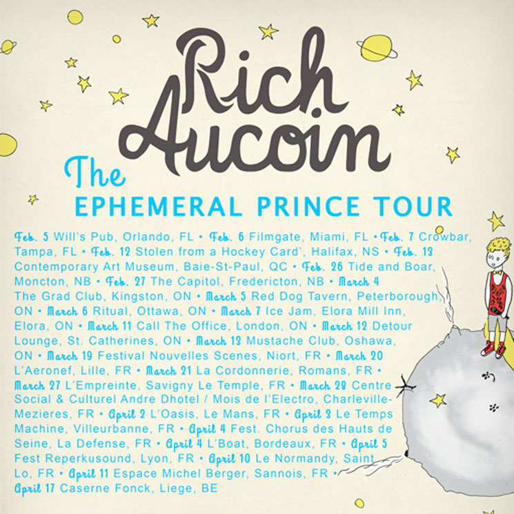 "Rich Aucoin Maps Out ""The Ephemeral Prince Tour,"" Shares New Video"